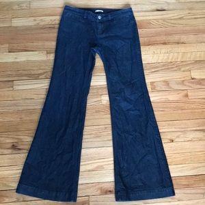 Banana Republic Jeans wide leg  sz 10L